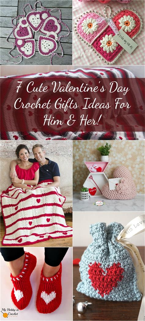 cute valentines day crochet gifts ideas