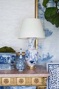 Blue and White Chinoiserie Chic