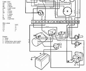 Volvo Penta Starter Solenoid Wiring Diagram