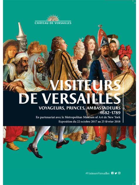 Les visiteurs de Versailles ressources pédagogiques