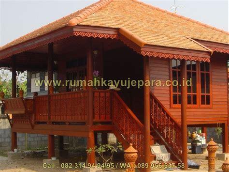 rumah kayu jati jepara model minimalis modern  jual