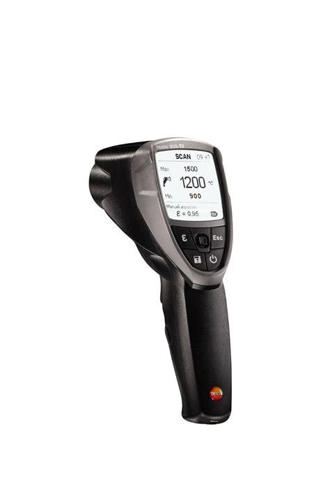 on testo testo 835 t2 high temperature ir thermometer surface