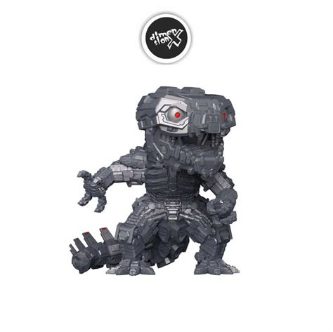 Movable cannons are attached to shoulder and chest of the figure. Funko Pop Mechagodzilla - Godzilla vs Kong - Dimension X ...