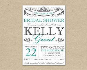 Bridal shower invitations bridal shower invitations free printable templates for Free printable wedding shower invitations