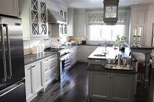 honed black granite transitional kitchen para paints With kitchen colors with white cabinets with driftwood fish wall art