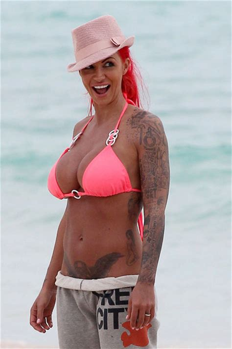 Jodie Marsh in Barbados - Zimbio