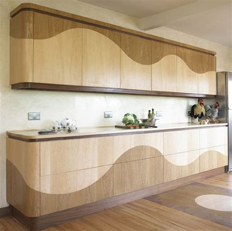 designer kitchen handles refined wave kitchen with concealed hinges and no handles 3243