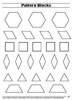 213 Best Pattern Blocks images   Pattern blocks, Math ...