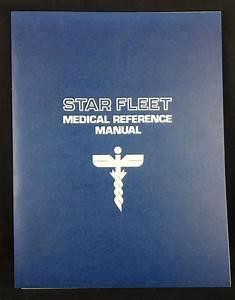 Star Fleet Medical Reference Manual Star Trek 1st Edition