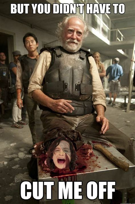 New Walking Dead Memes - the walking dead memes funny twd memes and pictures