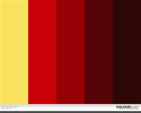 html color palette color palette with a yell color palettes