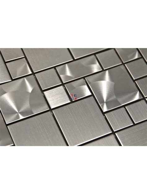 stainless mosaic buy 12x12 magic pattern mosaic stainless steel wallandtile com