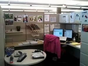 DIY fice cubicle decorating ideas