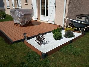 merveilleux comment poser lame de terrasse composite 0 With comment poser des lames de terrasse