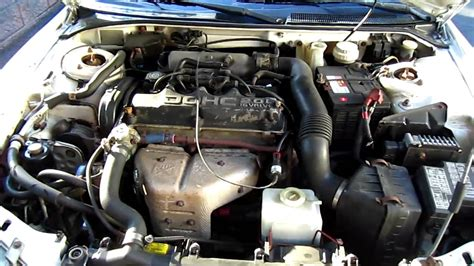 Under the Hood: 1995 Dodge Avenger   YouTube