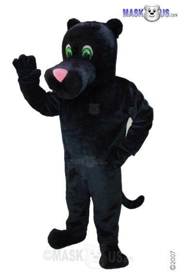 cartoon panther deluxe adult size panther mascot costume