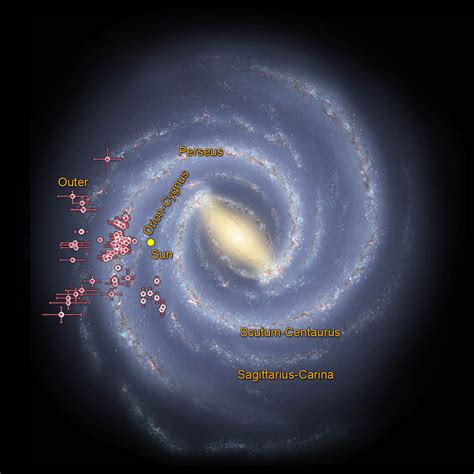 Space Images Tracing The Arms Our Milky Way Galaxy