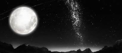 Moon Stars Sky Moonlight