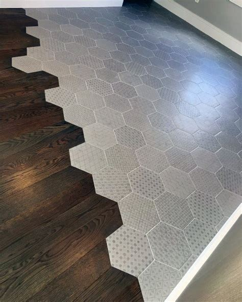 top   tile  wood floor transition ideas flooring