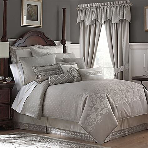 Waterford® Linens Colleen Reversible Comforter Set Bed
