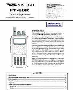 Yaesu Ft 60r Service Manual 60