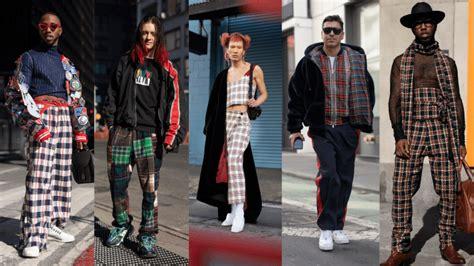Everyone Wore Plaid New York Fashion Week Men