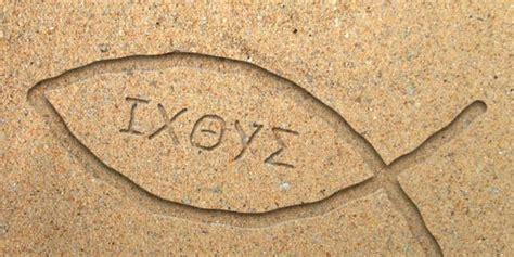 perche il simbolo segreto dei cristiani era il pesce