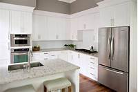 kitchen colors for white cabinets Most Popular Kitchen Cabinet Colors in 2019 | Plain ...