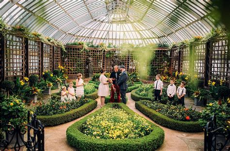 intimate southern inspired wedding at phipps conservatory