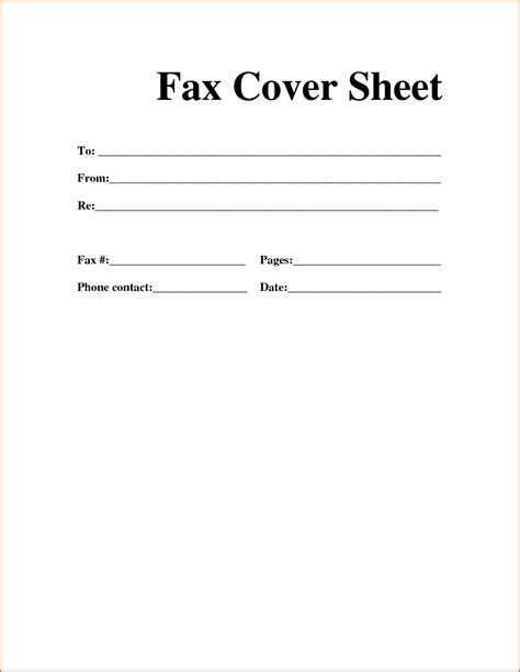 3 exle of fax cover sheet authorizationletters org