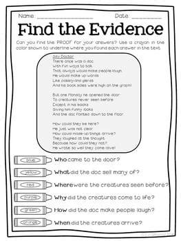 text detectives find  text evidence march edition