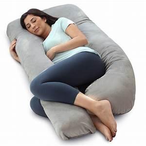 Pharmedoc, Pregnancy, Pillow, With, Velvet, Cover, -, U, Shaped, Body, Pillow