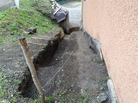 escalier b 233 ton le de ma maison couler les fouilles