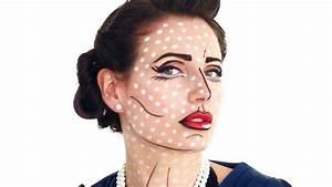 Pop Art Kleidung : pop art halloween makeup tutorial youtube ~ Indierocktalk.com Haus und Dekorationen
