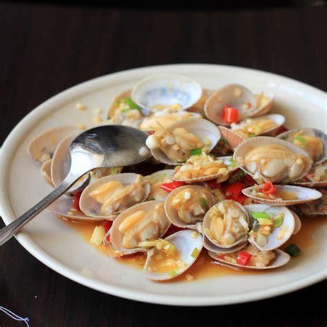 clam stir fry china sichuan food