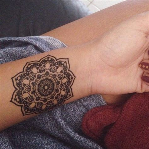 mandala wrist tattoo designs ideas  meaning tattoos