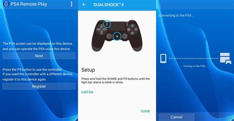 ps3 remote play android your playstation 4 remotely on your sony