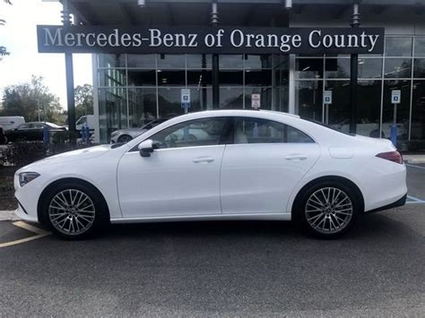 If slogging through traffic is part of your life. 2020 Mercedes-Benz CLA 250 4MATIC Coupe   Polar White OC20-80