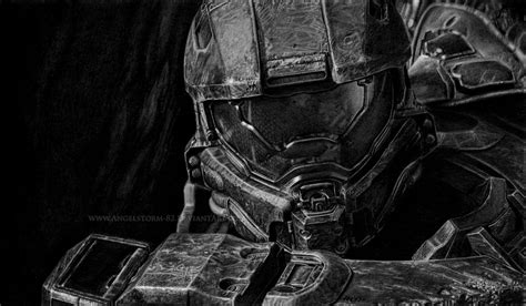 Halo 4 The Master Chief By Angelstorm 82 On Deviantart
