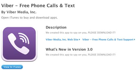 viber s apple app store account hacked description