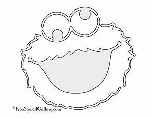 Cookie Monster Stencil | Free Stencil Gallery