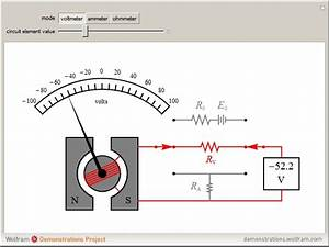 Simple Galvanometer Diagram