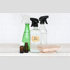 Diy Glass Spray Bottle (perfect For Your Diy Home Cleaning