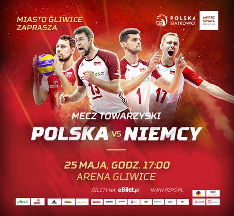 Ten alias nie działa poprawnie. Siatkówka - Polska vs Niemcy - Arena Gliwice