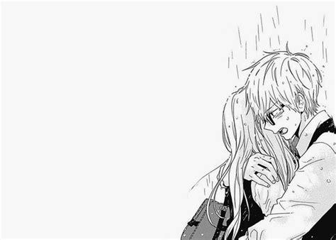 anime couple black and white wallpaper tumblr image 2695917 by taraa on favim com