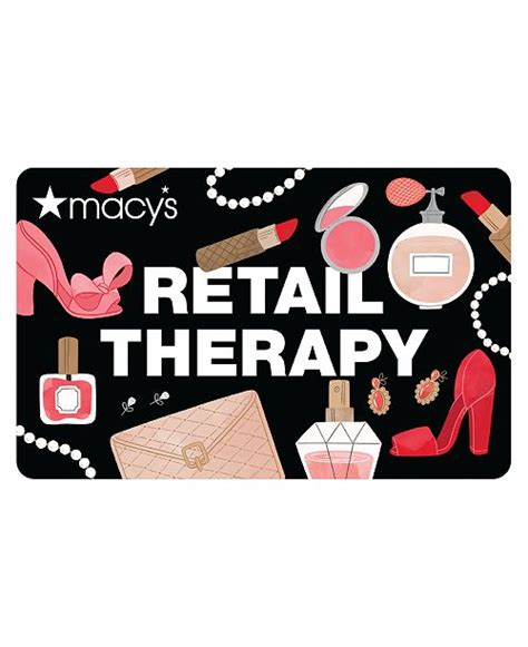 You'll receive your rewards in the form of a macy's gift card. Macy's Retail Therapy E-Gift Card & Reviews - Gift Cards - Macy's