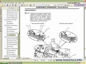 Hitachi Excavator Small Parts Catalog Repair Manual Order