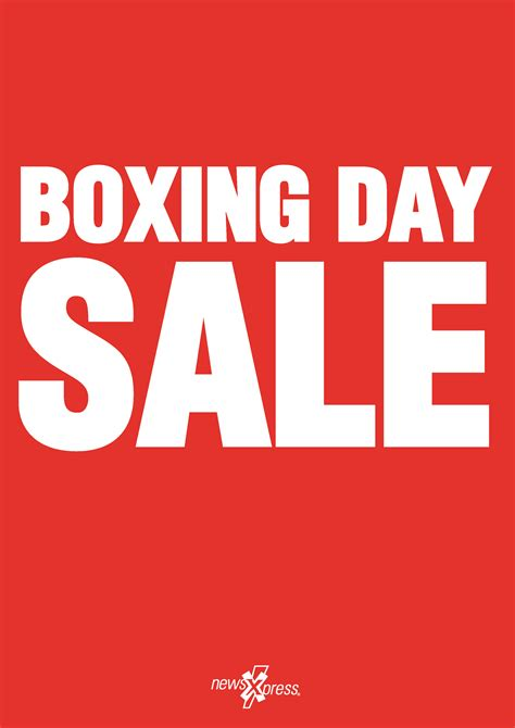 boxing day let the boxing day sale begin in the newsagency australian newsagency blog