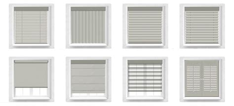 window blind types different types of window treatments overview