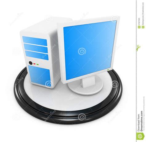 icones de bureau icône de pc de bureau illustration stock image du desktop
